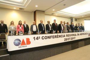 XIV CONFERENCIA REGIONAL DA ADVOCACIA- OAB SAO PAULO